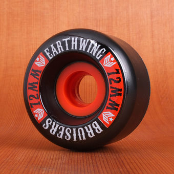 Earthwing Bruisers 72mm 84a Wheels - Black