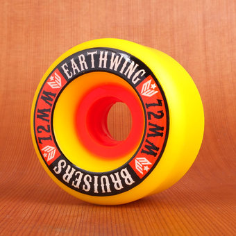 Earthwing Bruisers 72mm 87a Wheels - Yellow