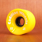 Cadillac 65mm 78a Cruzers Yellow Wheels