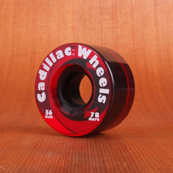 Cadillac Classics 56mm 78a Wheels - Red