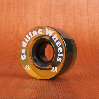 Cadillac Classics 56mm 78a Wheels - Beer