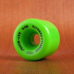 Powell 60mm 90a Rat Bones Green Wheels