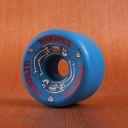 Powell 64mm 97a G Bones Blue Wheels