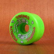 Powell 64mm 97a G Bones Green Wheels