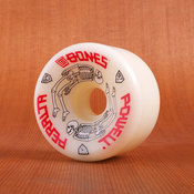 Powell 64mm 97a G Bones White Wheels