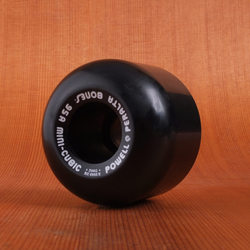 Powell 64mm 95a Mini Cubic Black Wheels