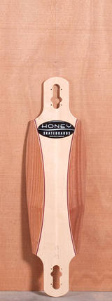 "Honey 36"" Amp Drop Through Longboard Deck"