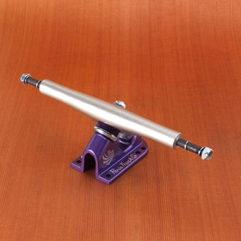 Paris 180mm V2 Trucks - Silver/Purple