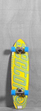 "Sector 9 31"" The Wedge Yellow Longboard"
