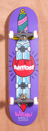 "Almost Willow Skate Knife 8.1"" Skateboard Complete"