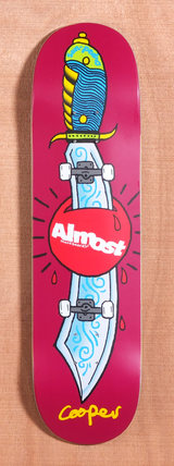 "Almost Wilt Skate Knife 8.1"" Skateboard Deck"
