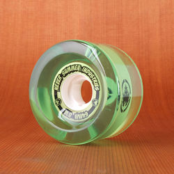 Never Summer 64mm 81a Wheels - Green