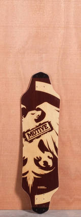 "Never Summer 33.2"" Motive Longboard Deck"