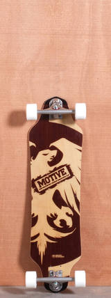 "Never Summer 33.2"" Motive Longboard Complete"