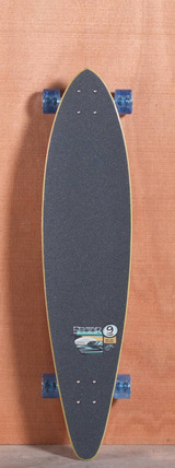 "Sector 9 40"" Island Time Longboard Complete - Red"