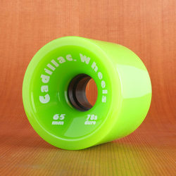 Cadillac 65mm 78a Cruzers Green Wheels