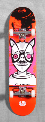 "Alien Workshop Salazar EXP 8.0"" Skateboard Complete"