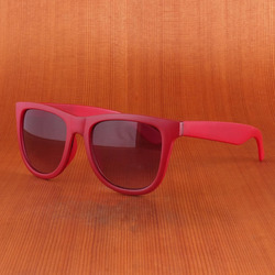Independent FN Matte Red Sunglasses