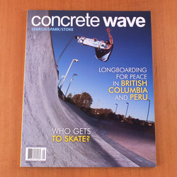 Concrete Wave v11 #4 2013 Winter