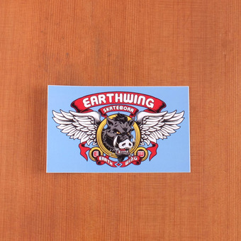 Earthwing Sticker Skate Boar
