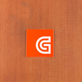 GoldCoast Sticker Logo Orange