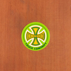 "Independent Sticker 3"" Circle Green"