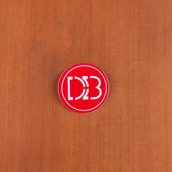 "DB Sticker 2.5"" Circle"