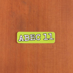 Abec11 Sticker Lime Green Rectangle