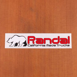 Randal Sticker Bear