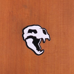 Bear Sticker Skull