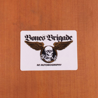 Powell Sticker Bones Brigade Autobiography