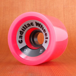 Cadillac 74mm 80a Cruzers Pink Wheels