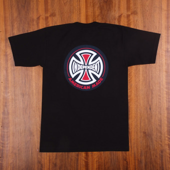 Independent AMI Logo Black T-Shirt