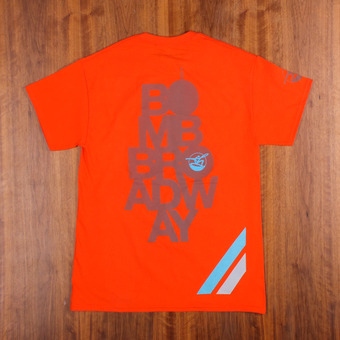 Bustin Reflective Safety Orange T-Shirt
