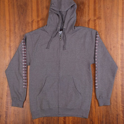 Independent OGBC Zip-Up Gunmetal Heather Sweatshirt