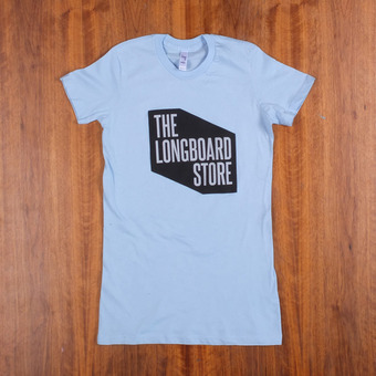 TLS Shop T-Shirt Women's - Light Blue