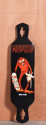 "Madrid 40"" Goat Sucker Longboard Deck"