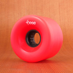 These 66mm 80a ATF 327 Wheels - Red