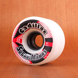 Cadillac Sugar Mamas 65mm 81a Wheels - White