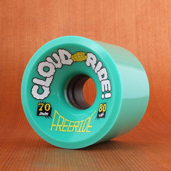 Cloud Ride Freeride 70mm 80a Wheels
