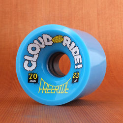 Cloud Ride Freeride 70mm 83a Wheels