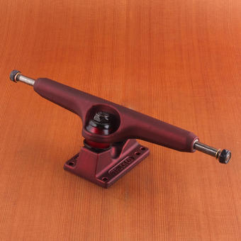 Independent 215mm Trucks - Oxblood Red