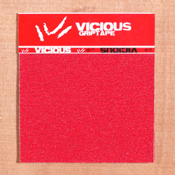 "Vicious Red 10""x11"" Grip, 3 Sheets"