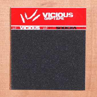 "Vicious Black 10"" x 11"" Grip, 3 Sheets"