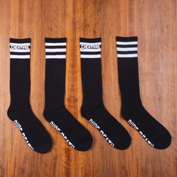 Creature Pure Death Socks 2 Pack - Black