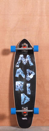 "Madrid 34.5"" Tape Longboard Complete"