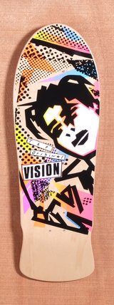 "Vision 30"" Mark Gonzales Natural Skateboard Deck"
