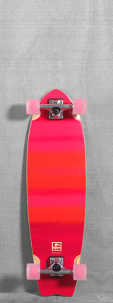 "Globe 33"" Chromantic Fluoro Orange Longboard"
