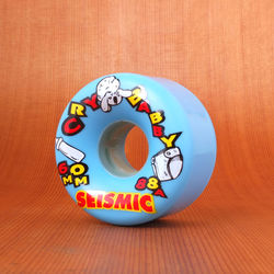 Seismic Cry Baby 60mm 88a Wheels - Blue