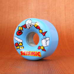 Seismic Cry Baby 64mm 88a Wheels - Blue